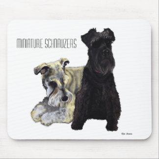 Miniature Schnauzers - Mousepad