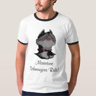 Miniature Schnauzers Rule T-Shirt