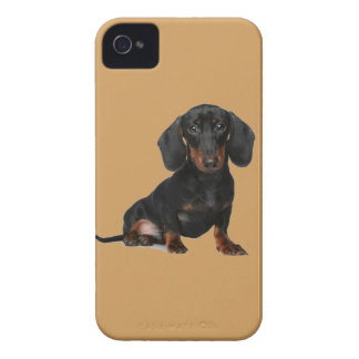 Miniature Short Haired Dachsund iPhone 4 Case-Mate Case