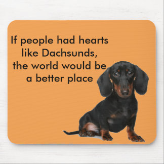 Miniature Short Haired Dachsund Mouse Pad