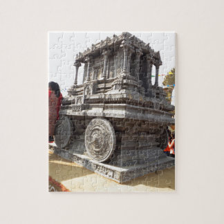 Miniature statues stone craft temples of india jigsaw puzzle