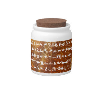 Miniature SUPER Duper Nature World Candy Jar
