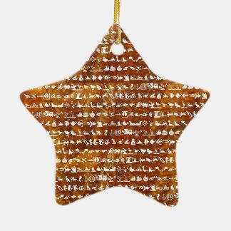 Miniature SUPER Duper Nature World Christmas Tree Ornaments