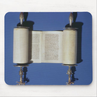 Miniature Torah Scroll, 1765 Mouse Pad