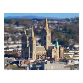 Miniature Truro Cathedral Postcard