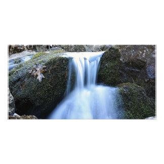 Miniature Waterfall Card