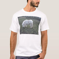 Miniature White Horse Gifts T-Shirt