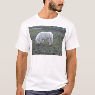 Miniature White Horse Gifts T-Shirt