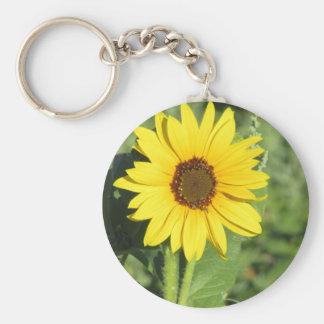 Miniature Wild Sunflower Bloom Key Chains