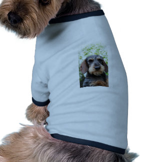 Miniature Wire Haired Dachshund Dog T-shirt