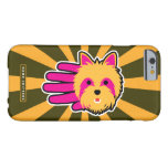 Hand shaped Miniature Yorkshire Terrier Barely There iPhone 6 Case