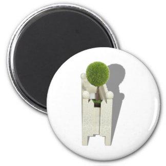 MiniatureForest062710Shadows 2 Inch Round Magnet