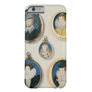 Miniatures, from L to R, T to B: Man with a Hand f Barely There iPhone 6 Case