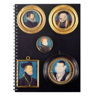 Miniatures of Hilliard's Father and Mother, self p Notebook