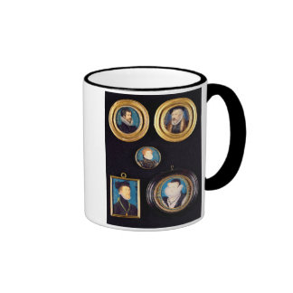 Miniatures of Hilliard's Father and Mother, self p Ringer Mug