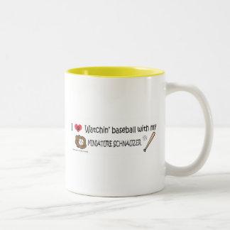 MINIATURESCHNAUZER Two-Tone COFFEE MUG