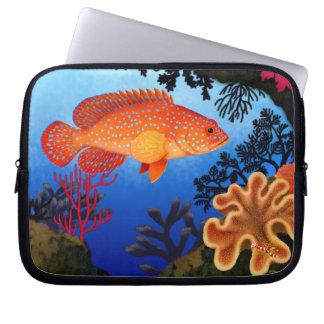 Miniatus Coral Grouper Electronics Bag