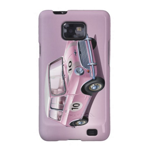 MiniCooper S1 pink Samsung Galaxy S Case
