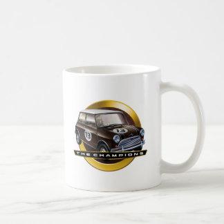 MiniCooper S brown Classic White Coffee Mug