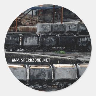 Miniera Classic Round Sticker
