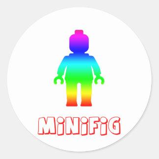 Minifig arco iris 1 cerca modifica mi Minifig pa Pegatinas