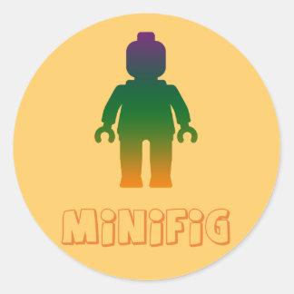 Minifig arco iris 3 cerca modifica mi Minifig pa Pegatina