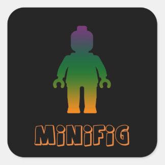 Minifig arco iris 3 cerca modifica mi Minifig pa Colcomanias Cuadradases