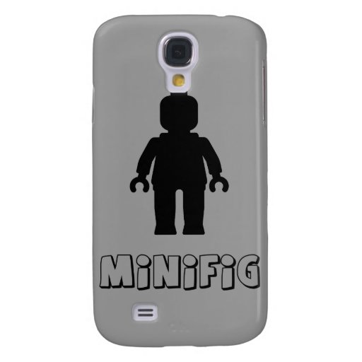 Minifig [Black] by Customize My Minifig Galaxy S4 Covers