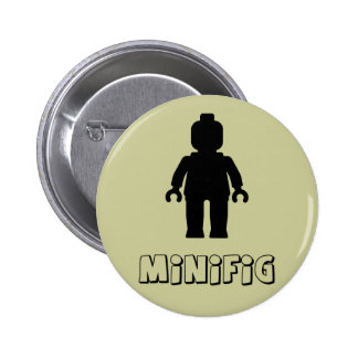 Minifig Black by Customize My Minifig Pin