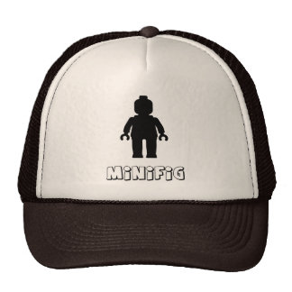 Minifig [Black] by Customize My Minifig Trucker Hat