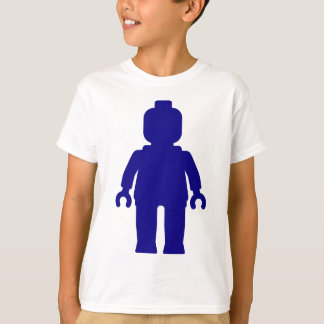 Minifig [Dark Blue] by Customize My Minifig T-Shirt