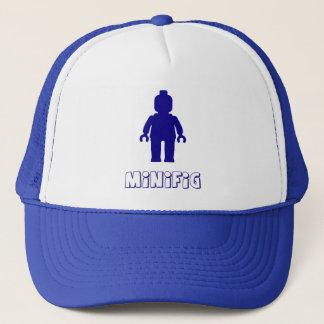 Minifig [Dark Blue] by Customize My Minifig Trucker Hat