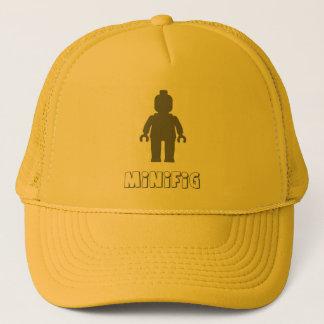 Minifig [Dark Grey] by Customize My Minifig Trucker Hat
