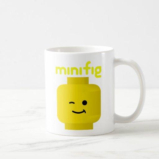 MINIFIG HEAD COFFEE MUGS
