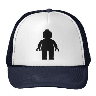 Minifig [Large Black] by Customize My Minifig Mesh Hat