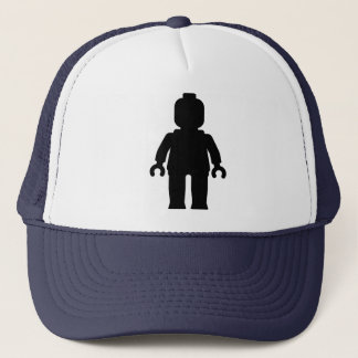 Minifig [Large Black] by Customize My Minifig Trucker Hat