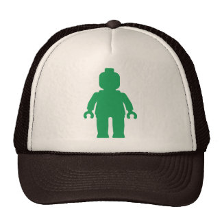 Minifig [Large Green] by Customize My Minifig Mesh Hat
