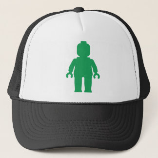 Minifig [Large Green] by Customize My Minifig Trucker Hat