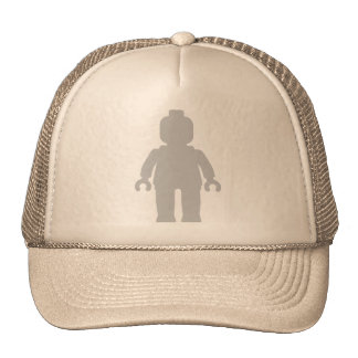Minifig [Large Light Grey] by Customize My Minifig Hats