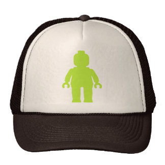 Minifig [Large Lime Green] by Customize My Minifig Hat