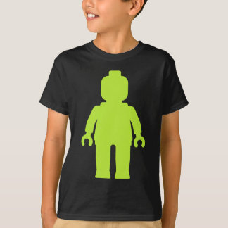 Minifig [Large Lime Green] by Customize My Minifig T-Shirt