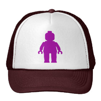 Minifig [Large Purple] by Customize My Minifig Mesh Hats