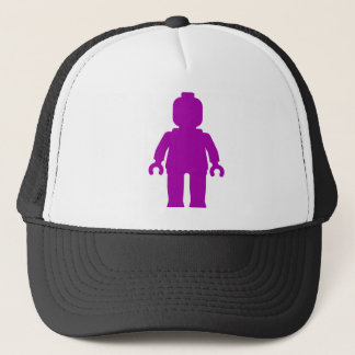 Minifig [Large Purple] by Customize My Minifig Trucker Hat