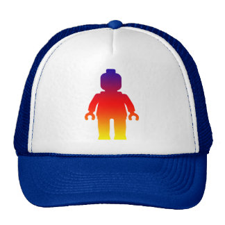 Minifig [Large Rainbow 2] by Customize My Minifig Hat
