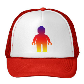 Minifig [Large Rainbow 2] by Customize My Minifig Trucker Hats
