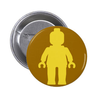 Minifig [Large Yellow] by Customize My Minifig Button