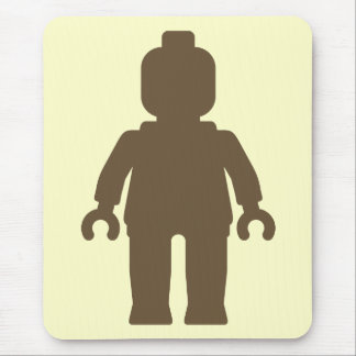 Minifig [Light Brown] by Customize My Minifig Mouse Pad