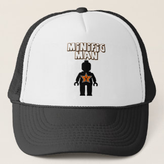 Minifig Man by Customize My Minifig Trucker Hat