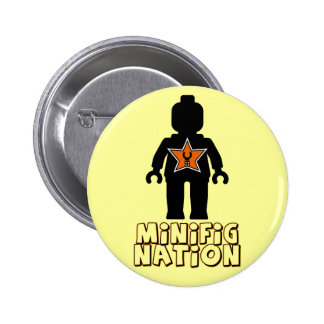 Minifig Nation by Customize My Minifig Pins