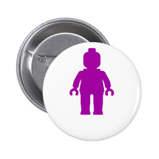 Minifig Purple by Customize My Minifig Pins